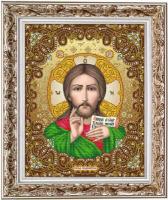 Рисунок на ткани бисером БЛАГОВЕСТ арт.И-3006 Господь Вседержитель 28х38 см