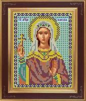 Набор для вышивания бисером GALLA COLLECTION арт.М 252 Св. Клавдия 12х15 см