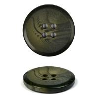 Пуговицы пластик TBY К385 (KC003) цв.094 хаки 36L-23мм, 4 прокола, 144 шт
