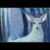 Набор для вышивания мулине НИТЕКС арт.А-0013 Хозяин леса 35х24 см