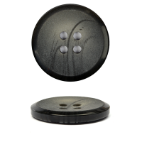 Пуговицы пластик TBY К385 (KC003) цв.016 т.серый 32L-20мм, 4 прокола, 144 шт