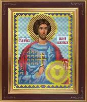 Набор для вышивания бисером GALLA COLLECTION арт.М 239 Св. Валерий 12х15 см