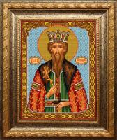 Набор для вышивания бисером ВЫШИВАЕМ БИСЕРОМ арт.L128 Вячеслав 18х24см
