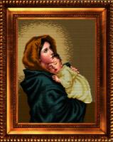 Рисунок на ткани бисером БЛАГОВЕСТ арт.К-3014 Странствующая мадонна 28,8х39 см
