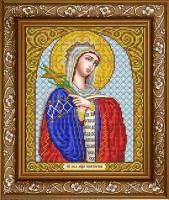 Рисунок на ткани СЛАВЯНОЧКА арт. ИС-4024 Святая Великомученица Екатерина 20х25 см