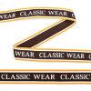 Тесьма-стропа TBY декоративная Classic wear арт.TPP03204 шир.20мм цв. коричневый уп.9м