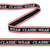 Тесьма-стропа TBY декоративная Classic wear арт.TPP03206 шир.20мм цв. черный уп.9м