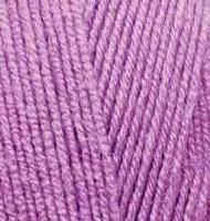 Пряжа для вязания Ализе LanaGold 800 (49% шерсть, 51% акрил) 5х100г/800м цв.260 орхидея