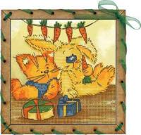 Набор для вышивания НОВА СЛОБОДА арт.ОР7553 Именины 13х13 см