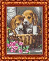 Рисунок на ткани КАРОЛИНКА арт. КБЖ-3029 Чудесный подарок 24,7х33 см