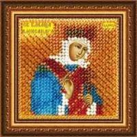 Рисунок на ткани ВЫШИВАЛЬНАЯ МОЗАИКА арт. 4046 Икона Св.Мученица царица Александра 6,5х6,5 см