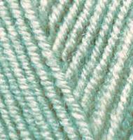 Пряжа для вязания Ализе Superlana midi (25% шерсть, 75% акрил) 5х100г/170м цв.463 мята