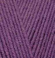 Пряжа для вязания Ализе Cotton gold (55% хлопок, 45% акрил) 5х100г/330м цв.122 сливовый