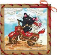 Набор для вышивания НОВА СЛОБОДА арт.ОР7557 Навстречу ветру 13х13 см