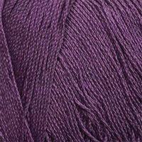 Пряжа для вязания ПЕХ 'Виртуозная' (100% мерсеризованный хлопок) 5х100г/333м цв.567 т.фиалка