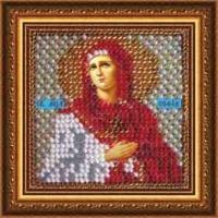 Рисунок на ткани ВЫШИВАЛЬНАЯ МОЗАИКА арт. 4050 Икона Св.Мученица София 6,5х6,5 см