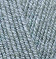 Пряжа для вязания Ализе Superlana klasik (25% шерсть, 75% акрил) 5х100г/280м цв.087 угольно - серый