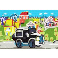 Набор юного художника Molly арт.KH0482 В сказочном городке (15 Цветов) 20х30 см