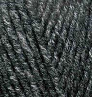 Пряжа для вязания Ализе Superlana midi (25% шерсть, 75% акрил) 5х100г/170м цв.800 антрацитовый жаспе