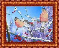 Рисунок на ткани КАРОЛИНКА арт. КБЖ-5011 Морозное утро 13х18 см