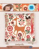 Набор для вышивания РТО арт.CU001 Сказочный лес 44х44 см