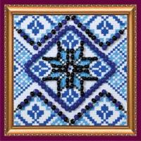 Набор для вышивания с магнитом АБРИС АРТ арт. AMM-018 Орнамент-3 5х5 см