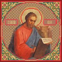 Набор для вышивания бисером МАТРЕНИН ПОСАД арт.28х34 - 3066/БГ Святой Лука