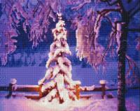 Набор алмазной живописи 'Империя бисера' арт.СК-618 'С Рождеством' 40х50 см
