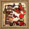Набор для вышивания BUTTERFLY арт. 112 Привет из Италии 26х27 см