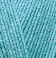 Пряжа для вязания Ализе Cotton gold (55% хлопок, 45% акрил) 5х100г/330м цв.287 св.бирюзовый