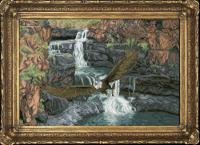 Набор для вышивания мулине КРАСА И ТВОРЧЕСТВО арт.30416 Удачный улов 50,9 х 33,8 см