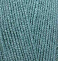Пряжа для вязания Ализе LanaGold 800 (49% шерсть, 51% акрил) 5х100г/800м цв.386 лазурный