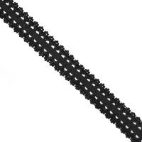 Резинка TBY бельевая (ажурная) 20мм арт.RB04322 цв.F322 (03) черный уп.100м