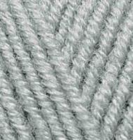 Пряжа для вязания Ализе Superlana maxi (25% шерсть, 75% акрил) 5х100г/100м цв.087 угольно - серый