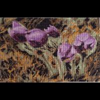 Набор для вышивания мулине НИТЕКС арт.0011 Птенцы 30х19,5 см