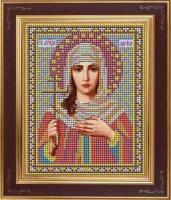 Набор для вышивания бисером GALLA COLLECTION арт.М 221 Св. Лариса 12х15 см