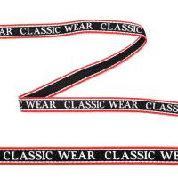 Тесьма-стропа TBY декоративная Classic wear арт.TPP03106 шир.10мм цв. черный уп.45,7м