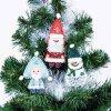 Набор для шитья и вышивания сувенир арт.МП-8435 Новогодняя банда 13х15, 11х15, 12х13 см