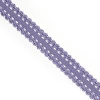 Резинка TBY бельевая (ажурная) 20мм арт.RB04380S цв.S380 св.фиолетовый уп.100м