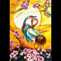 Набор для вышивания мулине НИТЕКС арт.0245 Верность 27х39 см