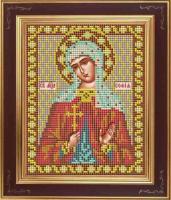 Набор для вышивания бисером GALLA COLLECTION арт.М 250 Св. София 12х15 см