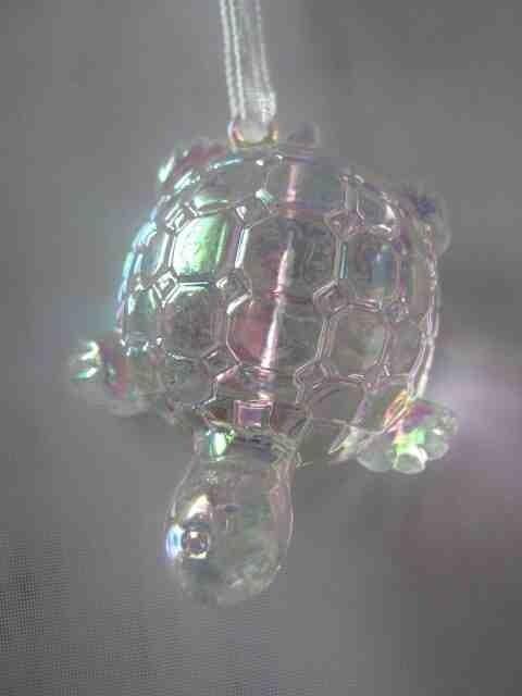 Декоративное украшение, Акриловая черепашка, Цвет Перламутровая