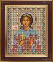 Набор для вышивания бисером GALLA COLLECTION арт.М 208 Св. Вероника 12х15 см