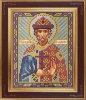 Набор для вышивания бисером GALLA COLLECTION арт.М 210 Св. Владимир 12х15 см
