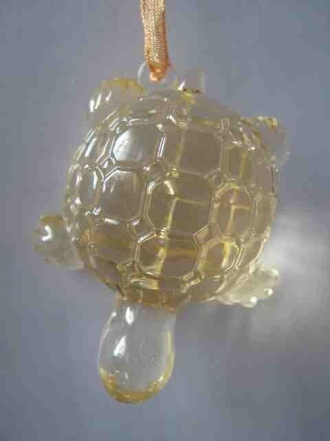 Декоративное украшение, Акриловая черепашка, Цвет Желтый