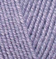Пряжа для вязания Ализе Superlana klasik (25% шерсть, 75% акрил) 5х100г/280м цв.257 лаванда