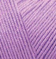 Пряжа для вязания Ализе Baby Best (90% акрил, 10% бамбук) 5х100г/240м цв.043 лаванда