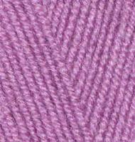 Пряжа для вязания Ализе Superlana midi (25% шерсть, 75% акрил) 5х100г/170м цв.028 ярк.сухая роза
