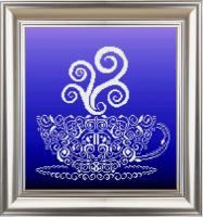 Рисунок на ткани СЛАВЯНОЧКА арт. КС-3021 Хрустальная чашечка 28,5х31 см
