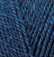 Пряжа для вязания Ализе Superlana klasik (25% шерсть, 75% акрил) 5х100г/280м цв.215 черника